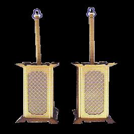 祖霊舎 №296 角型吊り燈籠 大イメージ画像