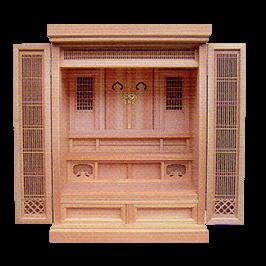 祖霊舎 №145 橘18号(ひのき)イメージ画像