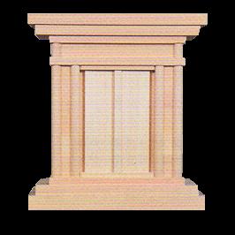 祖霊舎 №149 御霊舎 大(木曽ひのき)イメージ画像