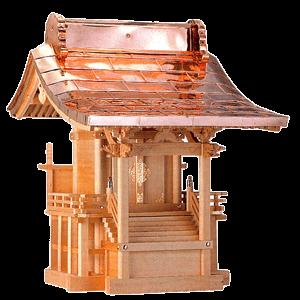 外宮 八幡宮(木曽ひのき) イメージ画像