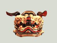 獅子頭 古代型11号正面画像