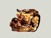 獅子頭 古代型11号斜め画像