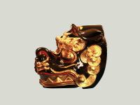 獅子頭 古代型11号真横画像