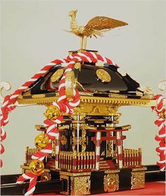 子供神輿18号(総手造り品)のイメージ画像